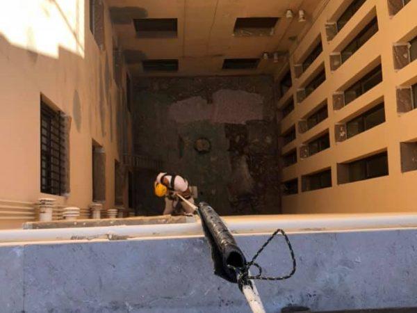 rehabilitacion de patios interiores